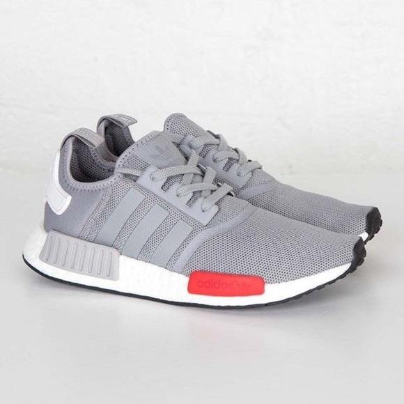 Le adidas nmd grey mosca poshmark